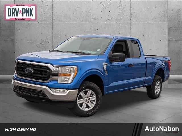 2021 Ford F-150 Super Cab 4x4, Pickup #MKD12694 - photo 1