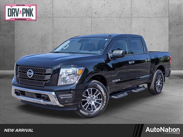 2021 Nissan Titan 4x2, Pickup #MN500025 - photo 1