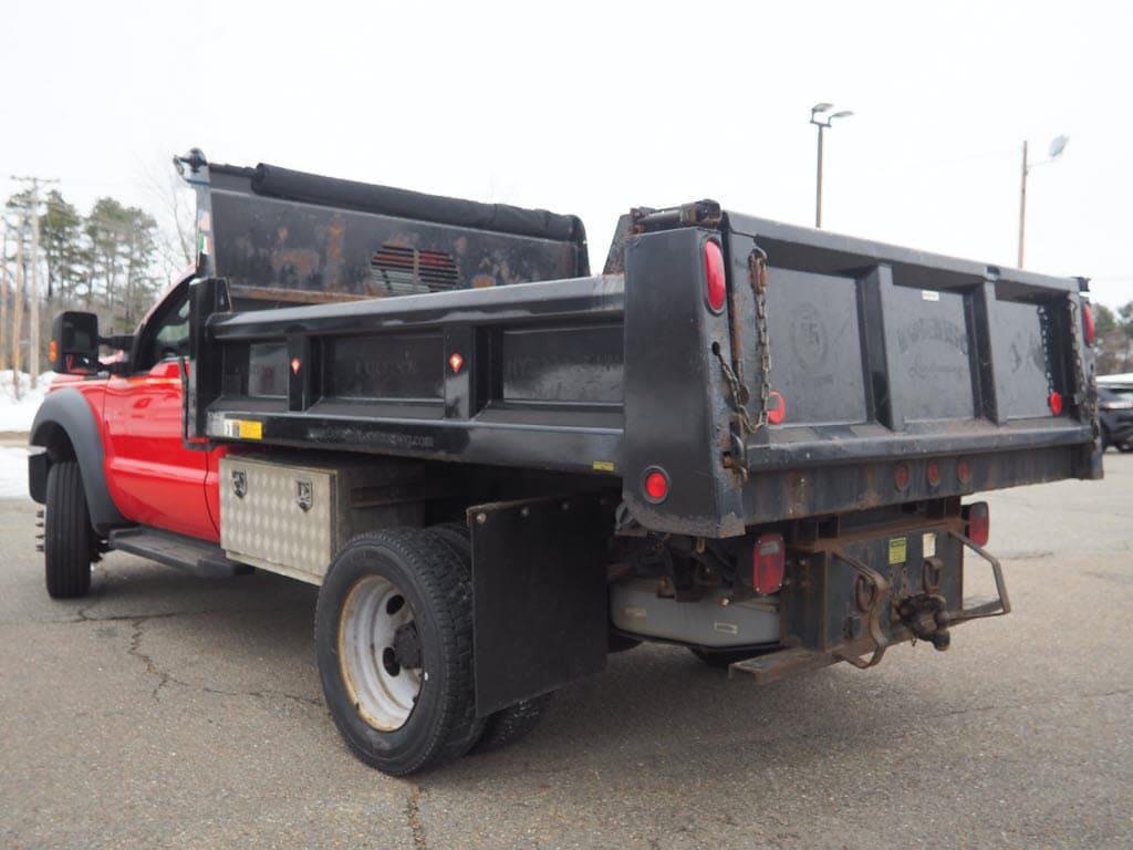 2016 Ford F-550 Regular Cab DRW 4x4, Dump Body #5981TA - photo 1