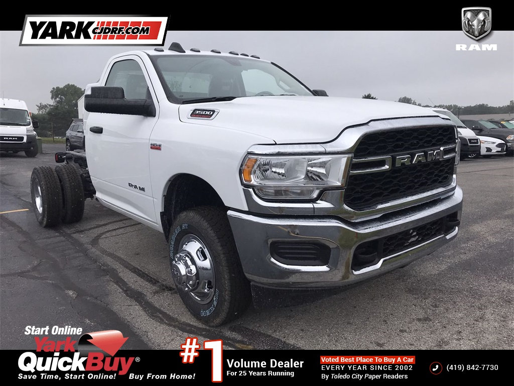 2020 Ram 3500 Regular Cab DRW 4x4, Cab Chassis #D201297 - photo 1