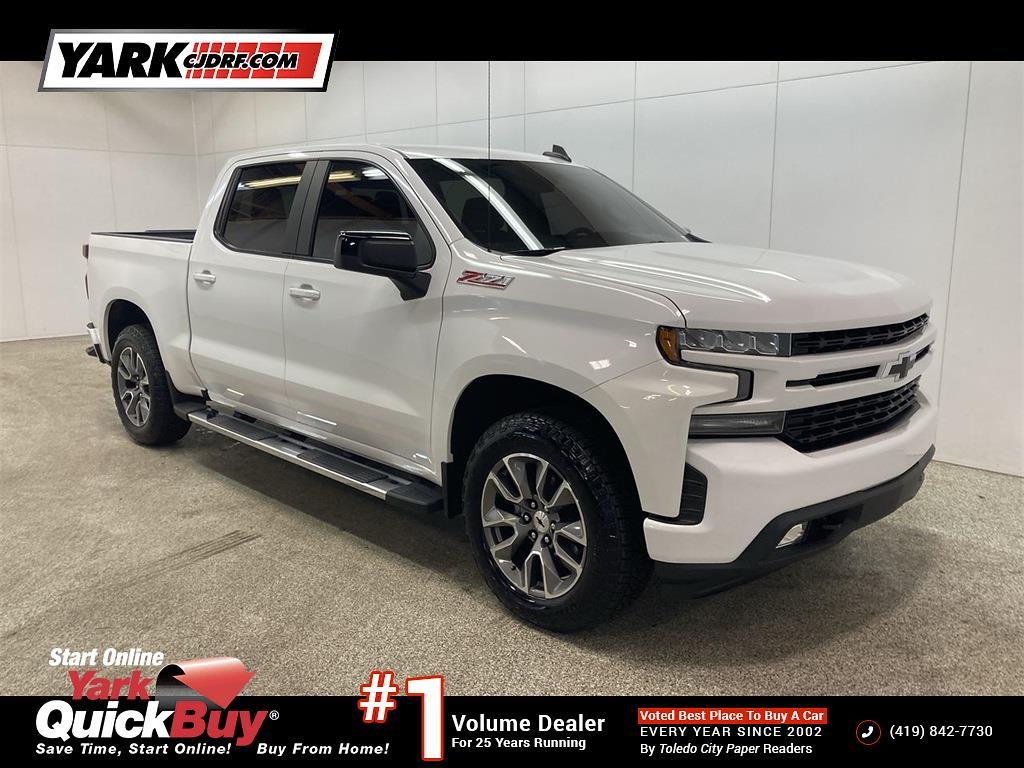 2019 Chevrolet Silverado 1500 Crew Cab 4x4, Pickup #D210298B - photo 1