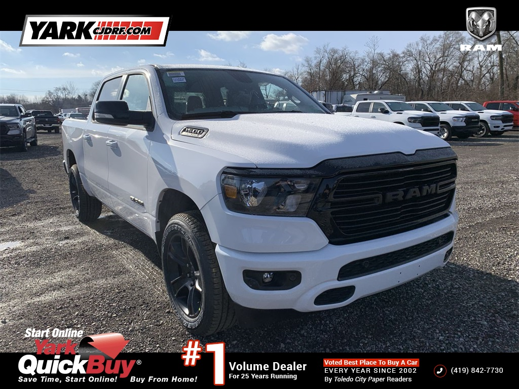 2021 Ram 1500 Crew Cab 4x4, Pickup #D210489 - photo 1