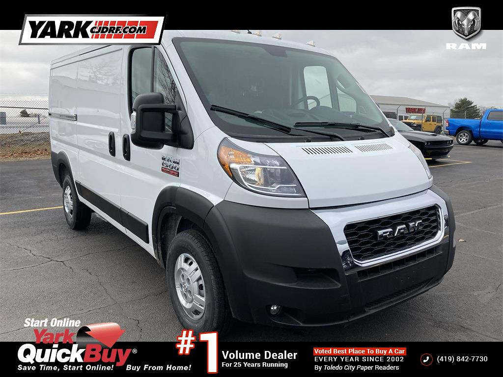 2021 Ram ProMaster 1500 Standard Roof FWD, Empty Cargo Van #D210504 - photo 1