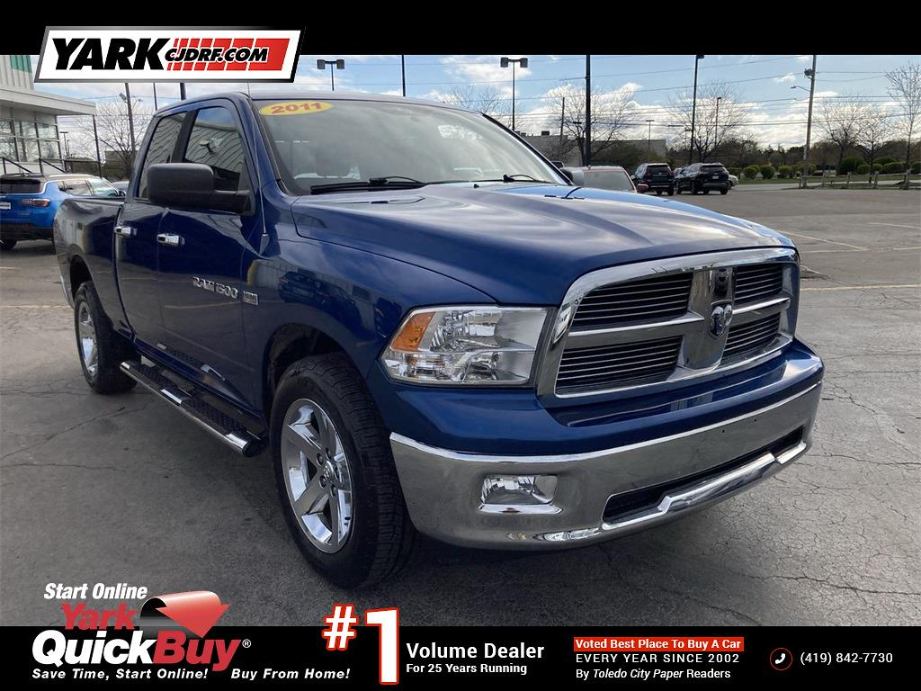 2011 Ram 1500 Crew Cab 4x4, Pickup #D210736B - photo 1