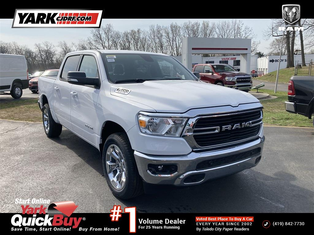 2021 Ram 1500 Crew Cab 4x4, Pickup #D210851 - photo 1
