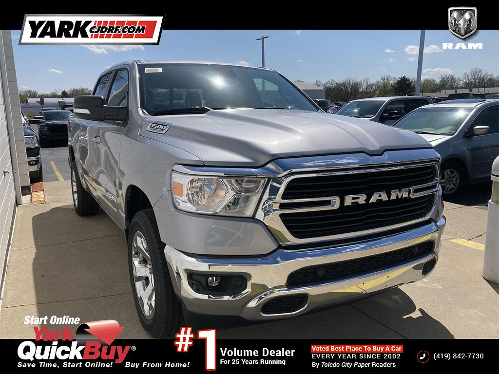 2021 Ram 1500 Crew Cab 4x4, Pickup #D210873 - photo 1