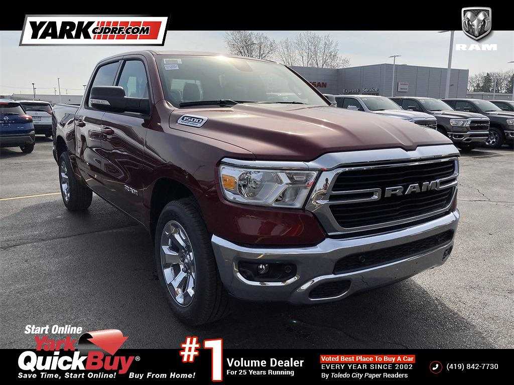 2021 Ram 1500 Crew Cab 4x4, Pickup #D210884 - photo 1