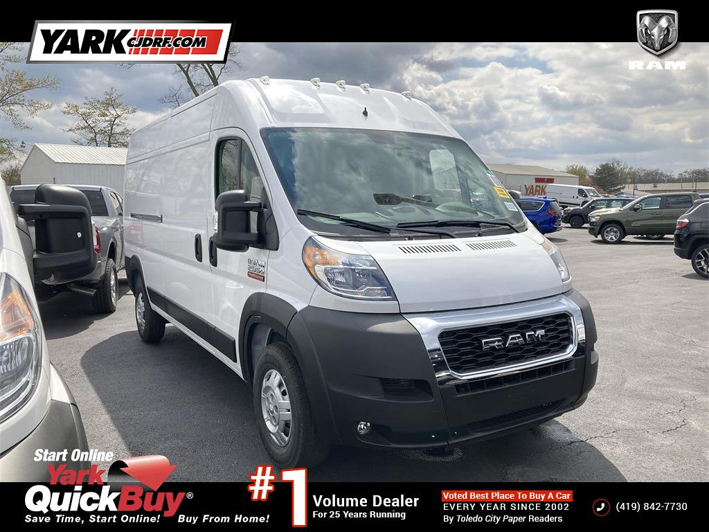 2021 Ram ProMaster 2500 High Roof FWD, Empty Cargo Van #D210923 - photo 1