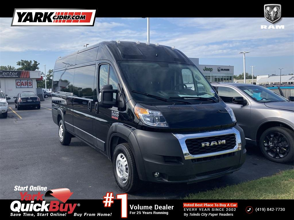 2021 ProMaster 3500 Extended High Roof FWD,  Empty Cargo Van #D211355 - photo 1