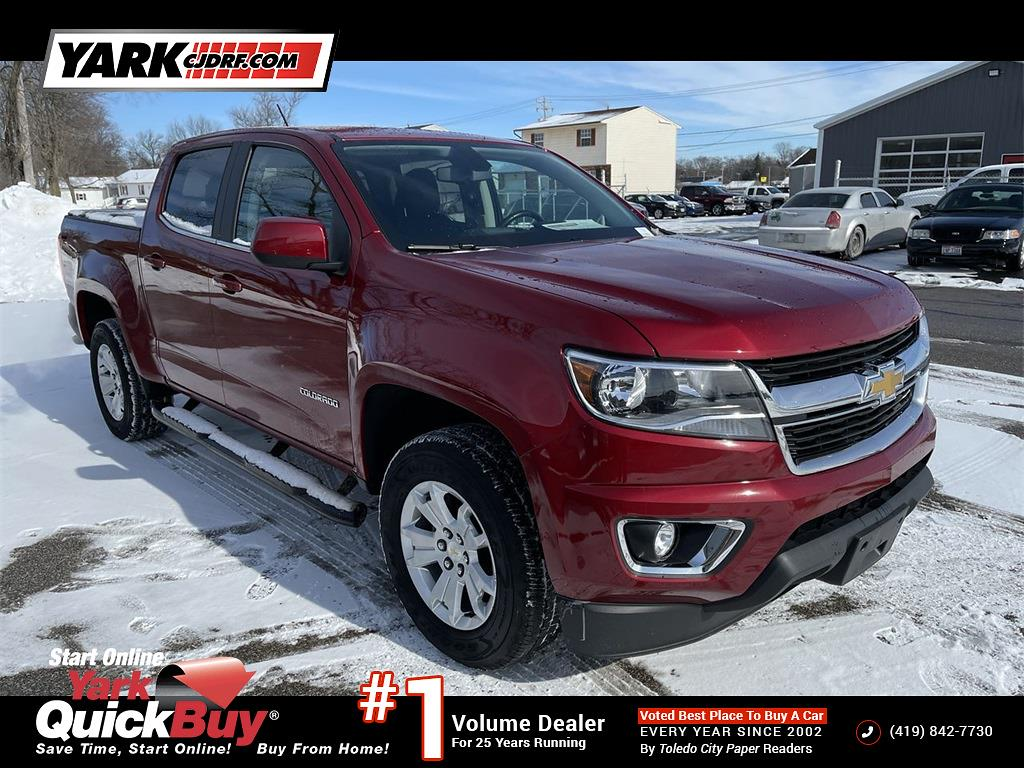 2017 Chevrolet Colorado Crew Cab 4x4, Pickup #J210275A - photo 1