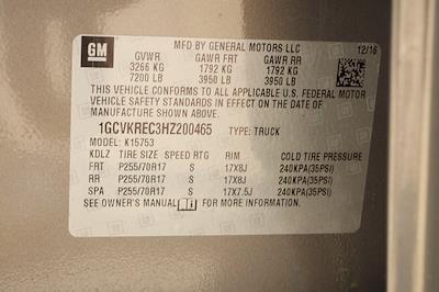 2017 Chevrolet Silverado 1500 Double Cab 4x4, Pickup #AF200465 - photo 35
