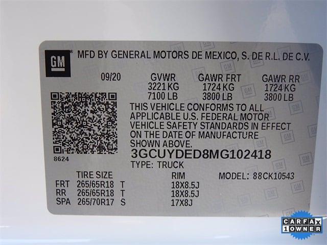 2021 Chevrolet Silverado 1500 Crew Cab 4x4, Pickup #BR102418 - photo 32