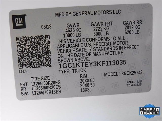 2019 Chevrolet Silverado 2500 Crew Cab 4x4, Pickup #BR113035 - photo 36