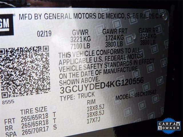 2019 Chevrolet Silverado 1500 Crew Cab 4x4, Pickup #BR120556 - photo 37