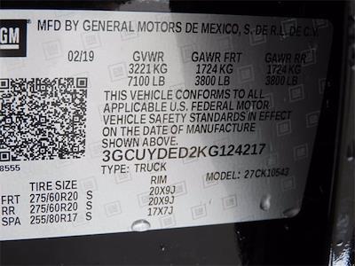 2019 Chevrolet Silverado 1500 Crew Cab 4x4, Pickup #BR124217 - photo 37