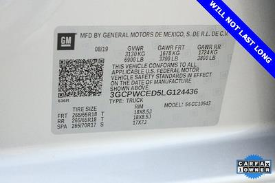 2020 Chevrolet Silverado 1500 Crew Cab 4x2, Pickup #BR124436 - photo 33