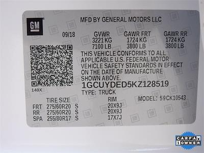 2019 Chevrolet Silverado 1500 Crew Cab 4x4, Pickup #BR128519 - photo 35