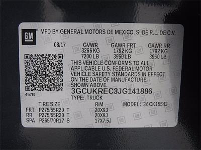 2018 Chevrolet Silverado 1500 Crew Cab 4x4, Pickup #BR141886 - photo 33
