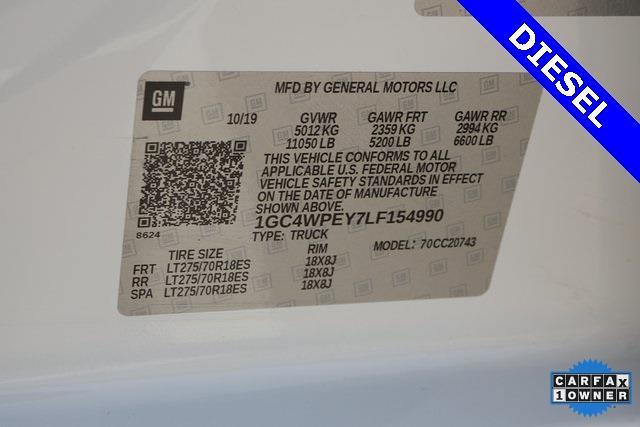 2020 Chevrolet Silverado 2500 Crew Cab 4x2, Pickup #BR154990 - photo 35