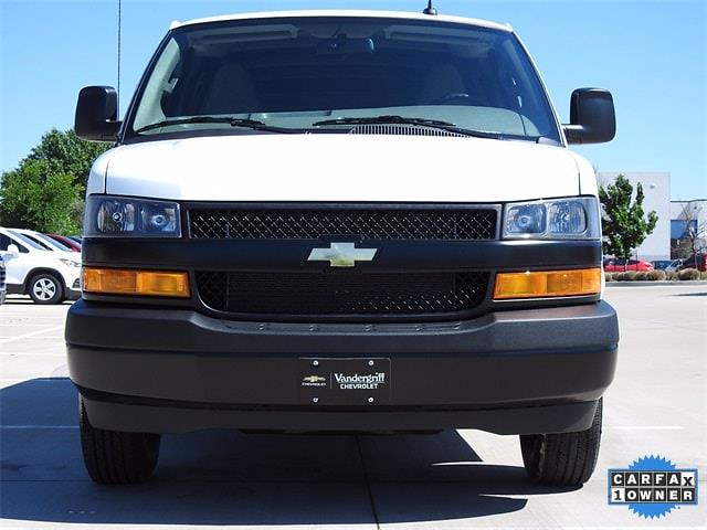2021 Chevrolet Express 2500 4x2, Masterack Empty Cargo Van #BR188181 - photo 9
