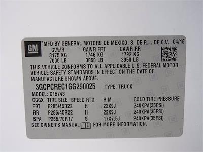 2016 Chevrolet Silverado 1500 Crew Cab 4x2, Pickup #BR290025 - photo 33