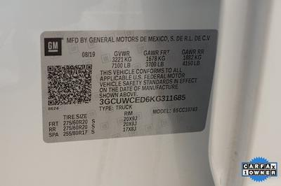 2019 Chevrolet Silverado 1500 Crew Cab 4x2, Pickup #BR311685 - photo 37