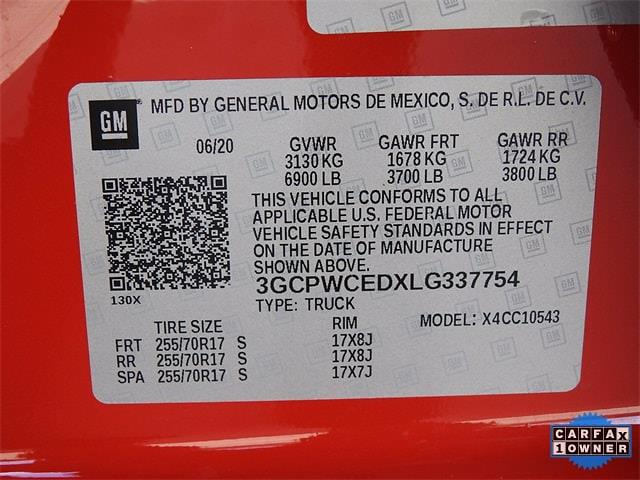 2020 Chevrolet Silverado 1500 Crew Cab 4x2, Pickup #BR337754 - photo 34