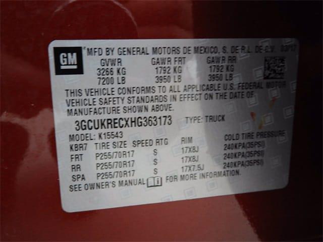 2017 Chevrolet Silverado 1500 Crew Cab 4x4, Pickup #BR363173 - photo 34