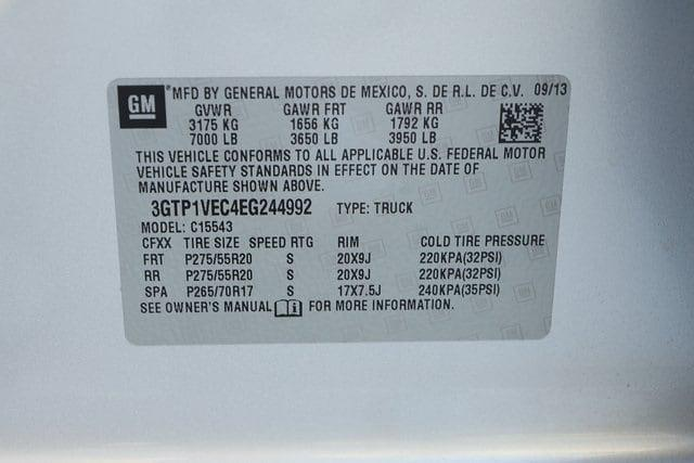 2014 GMC Sierra 1500 Crew Cab 4x2, Pickup #EG244992 - photo 39
