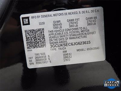 2018 Chevrolet Silverado 1500 Crew Cab 4x4, Pickup #JG623615 - photo 38