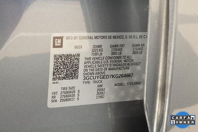 2019 Chevrolet Silverado 1500 Crew Cab 4x4, Pickup #KG264667 - photo 41