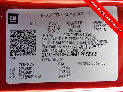 2021 Chevrolet Colorado Extended Cab 4x2, Pickup #M1205565 - photo 26