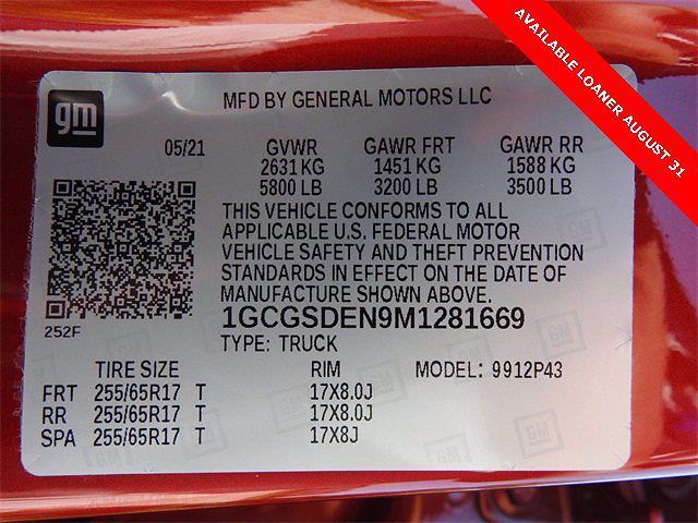 2021 Chevrolet Colorado Crew Cab 4x2, Pickup #M1281669 - photo 28