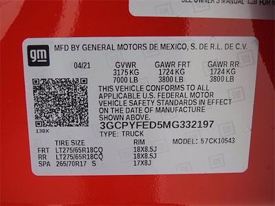 2021 Chevrolet Silverado 1500 Crew Cab 4x4, Pickup #MG332197 - photo 27
