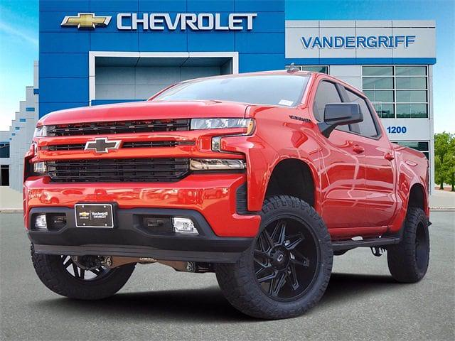 2021 Chevrolet Silverado 1500 Crew Cab 4x4, Pickup #MG334370 - photo 1