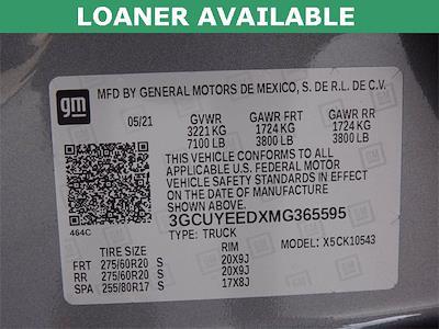 2021 Chevrolet Silverado 1500 Crew Cab 4x4, Pickup #MG365595 - photo 31