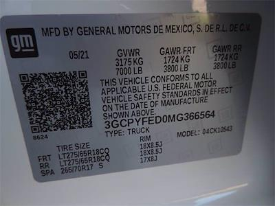 2021 Chevrolet Silverado 1500 Crew Cab 4x4, Pickup #MG366564 - photo 32