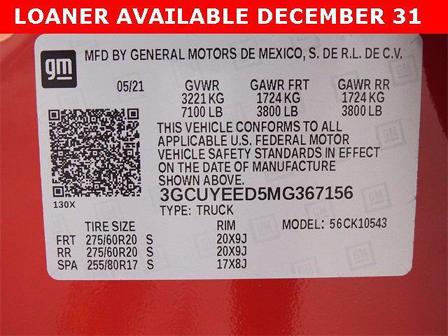 2021 Chevrolet Silverado 1500 Crew Cab 4x4, Pickup #MG367156 - photo 30