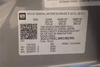 2021 Chevrolet Silverado 1500 Crew Cab 4x4, Pickup #MG382391 - photo 23