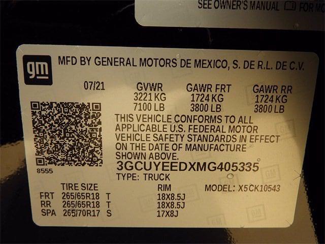 2021 Silverado 1500 Crew Cab 4x4,  Pickup #MG405335 - photo 30