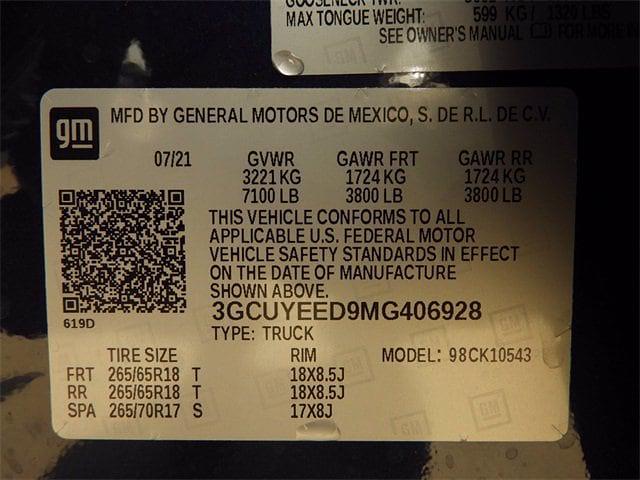2021 Silverado 1500 Crew Cab 4x4,  Pickup #MG406928 - photo 30