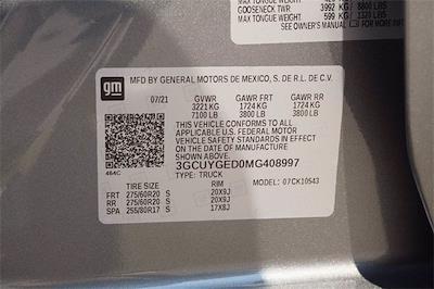2021 Chevrolet Silverado 1500 Crew Cab 4x4, Pickup #MG408997 - photo 21
