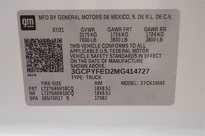 2021 Chevrolet Silverado 1500 Crew Cab 4x4, Pickup #MG414727 - photo 19