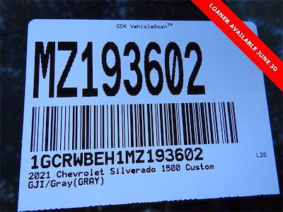 2021 Chevrolet Silverado 1500 Double Cab 4x2, Pickup #MZ193602 - photo 26