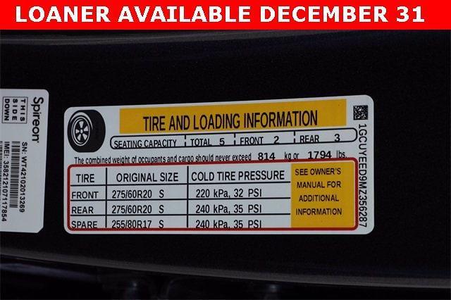 2021 Chevrolet Silverado 1500 Crew Cab 4x4, Pickup #MZ356287 - photo 32