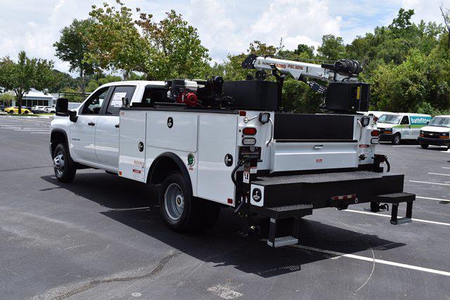 2021 Chevrolet Silverado 3500 Crew Cab AWD, Crane Body Mechanics Truck #CM47741 - photo 34