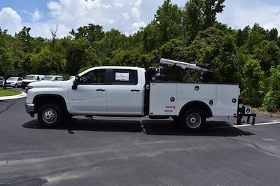 2021 Chevrolet Silverado 3500 Crew Cab AWD, Crane Body Mechanics Truck #CM47741 - photo 35