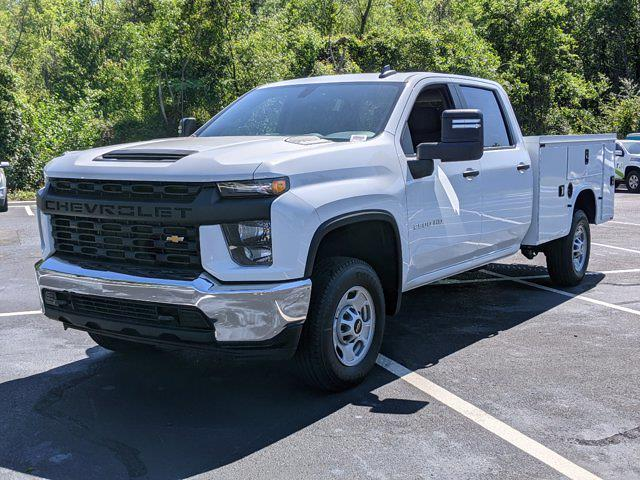 2021 Chevrolet Silverado 2500 Crew Cab 4x2, Knapheide Steel Service Body #CM94273 - photo 23