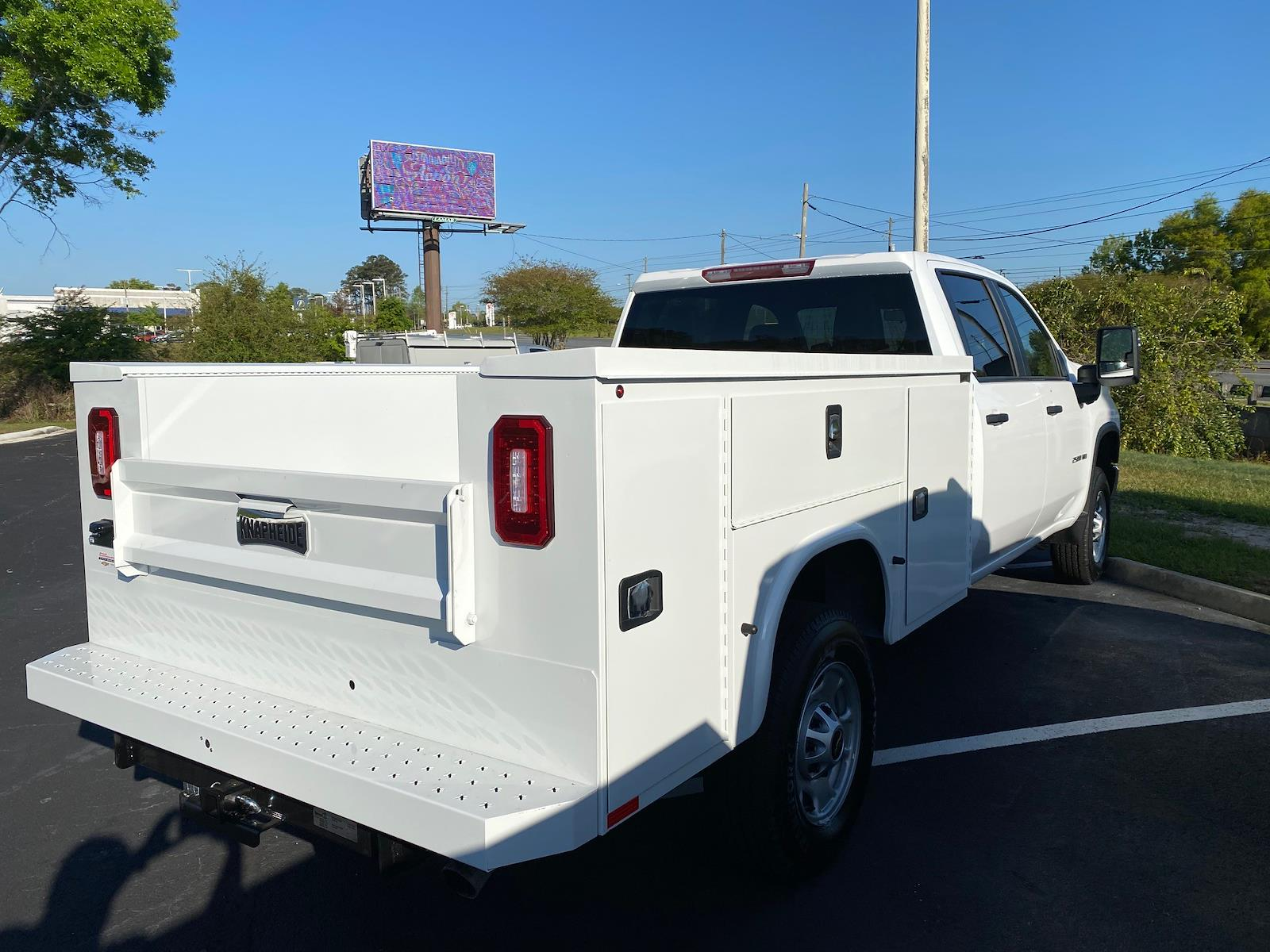 2021 Chevrolet Silverado 2500 Crew Cab 4x2, Knapheide Steel Service Body #CM94273 - photo 2