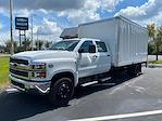 2021 Silverado Medium Duty Crew Cab DRW 4x2, Box Truck #DM83687 - photo 1